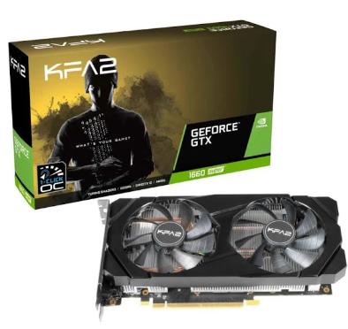 Carte Graphique KFA2 GeForce GTX 1660 SUPER 1-Clic OC - 6 Go (228,71 € avec le code BF12100)