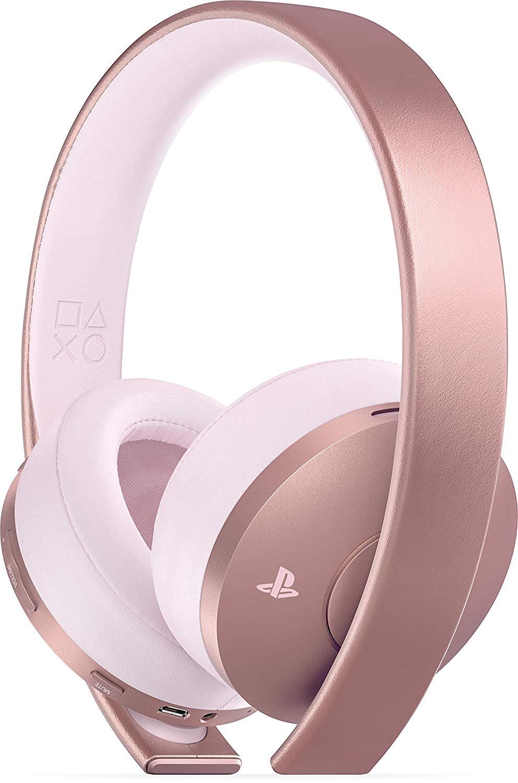 Casque sans-fil Sony Gold pour PS4 - Or Rose