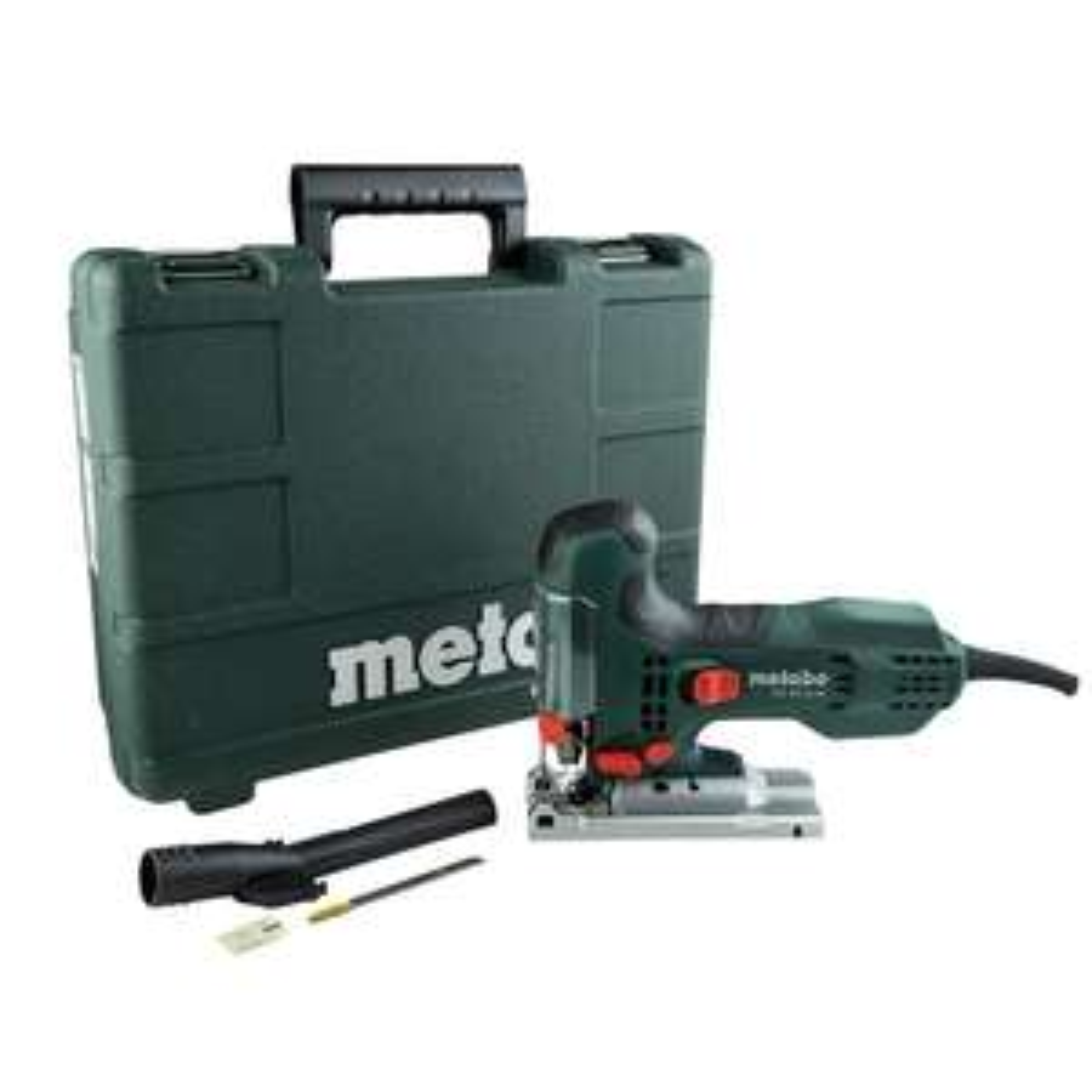 Scie sauteuse filaire Metabo STE100Quick - 710W, 100 mm + lame + coffret + clé, garantie 3 ans