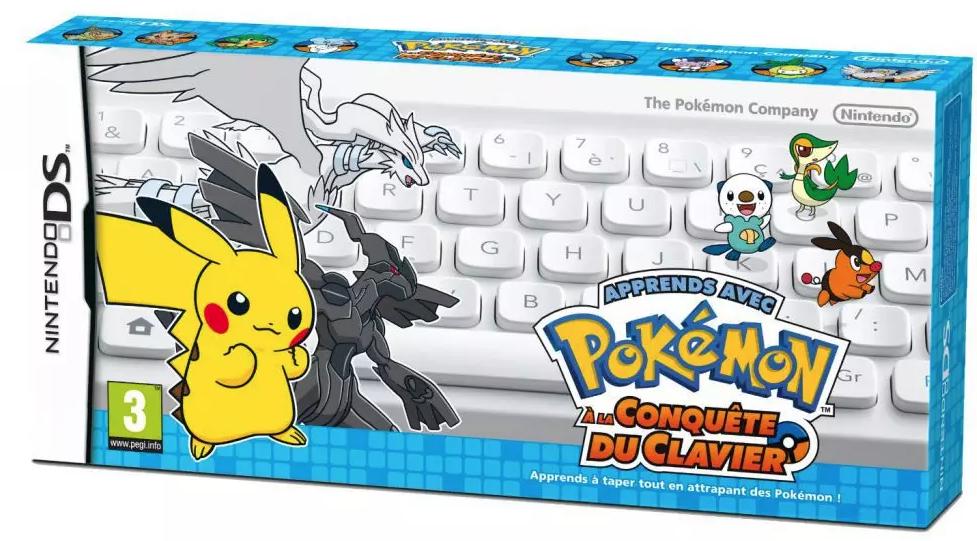 Jeu Nintendo Ds - Apprends Avec Pokemon : A La Conquete Du Clavier ( Frais de port gratuit à partir de 5euros )