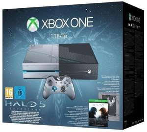 Console Xbox One 1 To Collector + Halo 5 : Guardians
