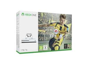 Pack console Microsoft Xbox One S - 1To + Fifa 17