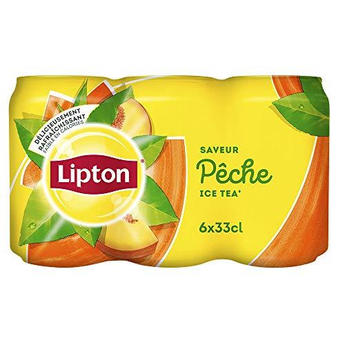 [Pantry] Pack de 6 canettes de Lipton Ice Tea Saveur Pêche - 33 cl