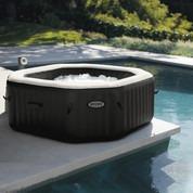 PureSpa octogonal Intex - 6 places, Bulles, jets, écostérilisateur (piscine-center.net)
