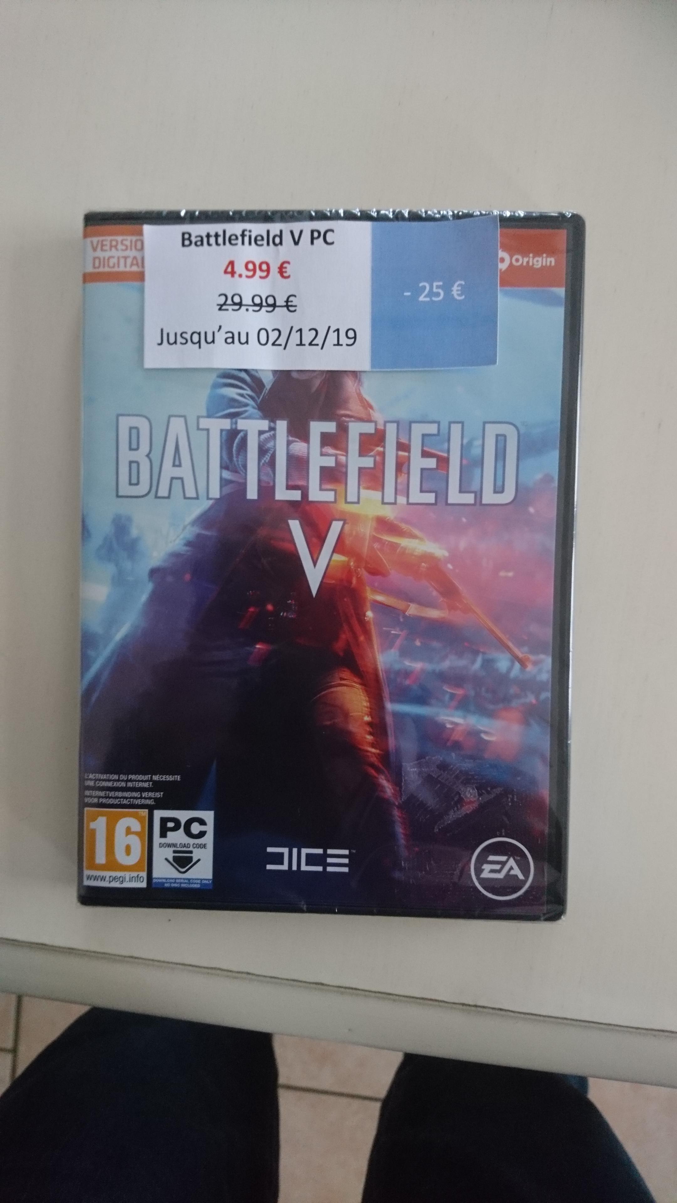Battlefield V sur PC - Coutances (50)