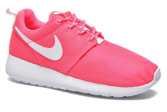 Chaussures enfant Nike Roshe One - Rose/Blanc