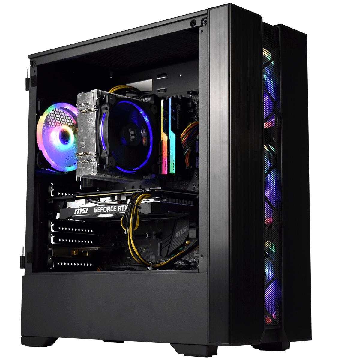 PC NEMESIS by CYBERTEK - Ryzen 7 3700X, 16Go RAM, 1To SSD M2, RTX 2070, Sans OS ou 1619€ avex W10