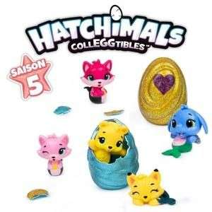 Pack de 5 Figurines Hatchimals - Saison 5 : Mermaid Magic (Modèles Aléatoires)
