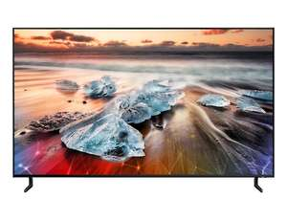 "TV 55"" Samsung QE55Q950R - 8K UHD, QLED, Smart TV + Accroche murale extra-fine offerte"