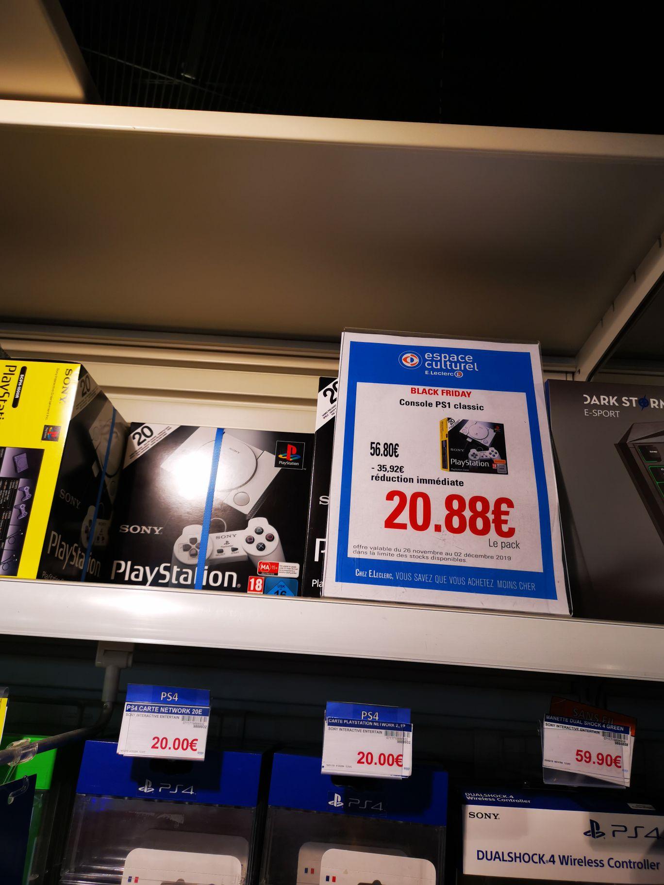 Console de jeu Sony Playstation Classic - La Roche-sur-Yon (53)