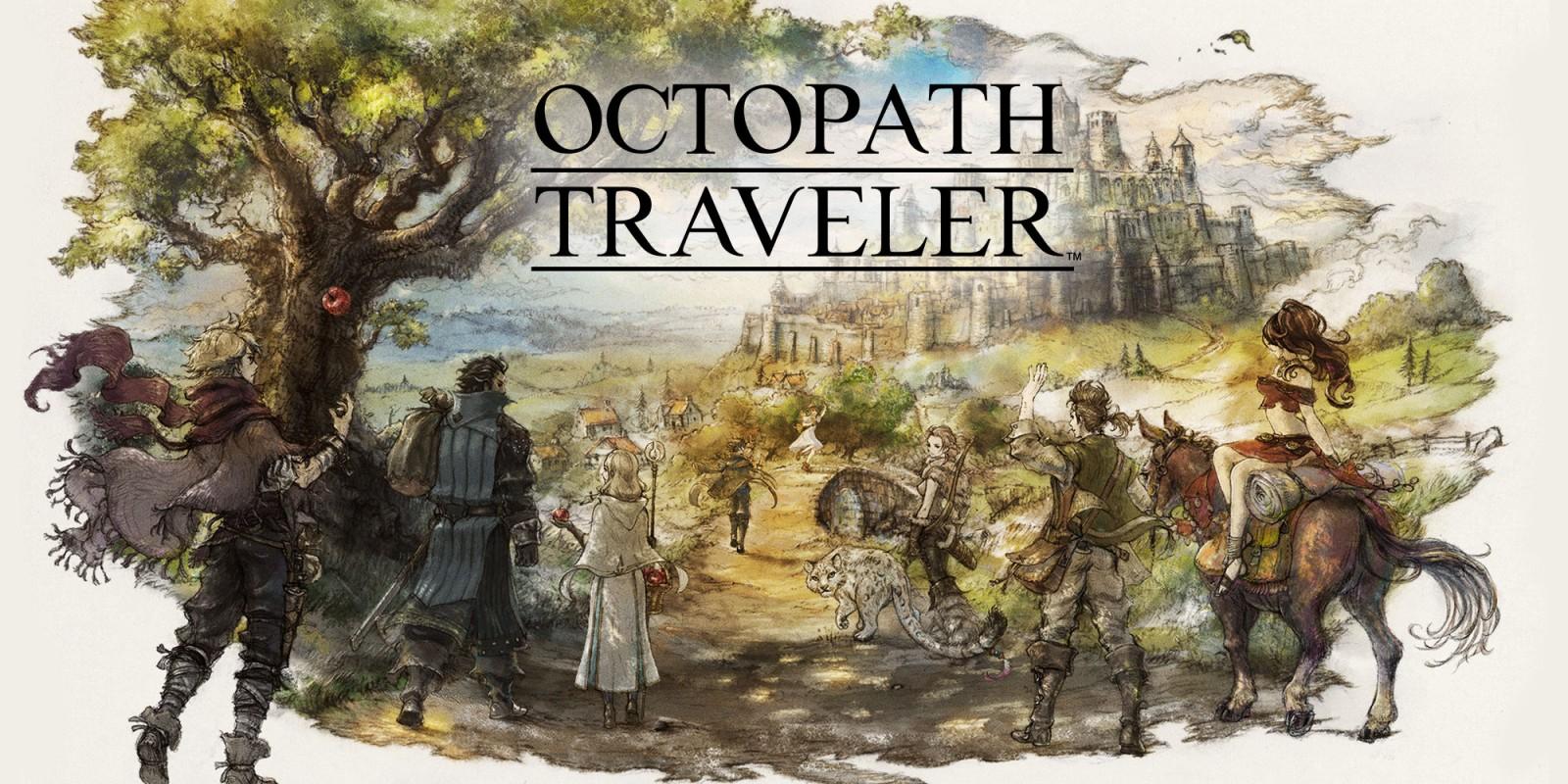 Jeu Octopath Traveler sur Nintendo Switch