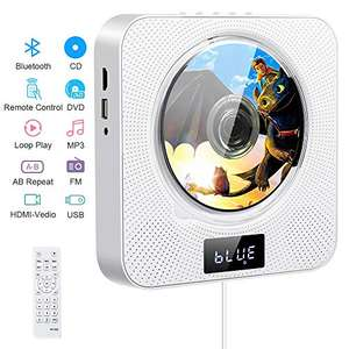 Lecteur CD/DVD portable Boombox - Bluetooth (Vendeur tiers)