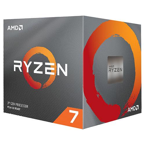 Processeur AMD Ryzen 7 3700X - Wraith Prism LED RGB (3.6 GHz / 4.4 GHz) (336,67€ avec BLACKMOUTH)