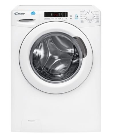 Lave linge hublot CANDY CS14102D3-1 Smart Touch + 50€ offerts en Bon d'achat
