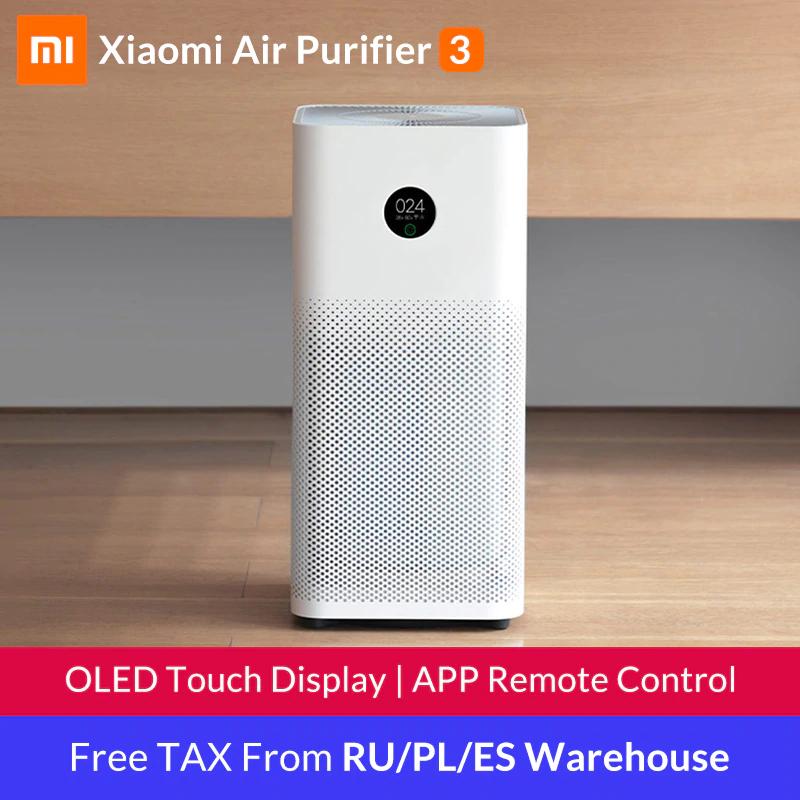 Purificateur d'air Xiaomi Mijia 3 (Entrepôt Espagne ou Pologne)