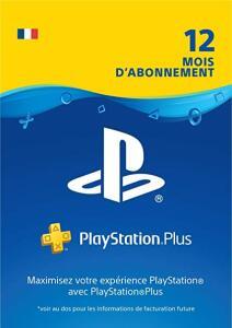 Abonnement au Playstation Plus - 12 Mois