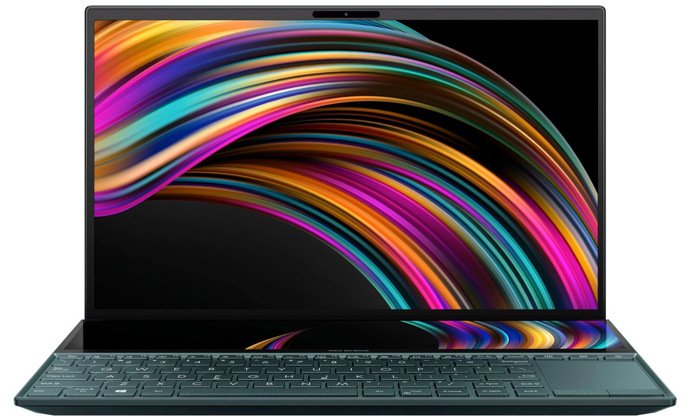 """PC portable 14""""AsusZenbook Duo UX481FA-BM023T (Via ODR de 100€) - Intel Core i5-10210U, 8 Go de RAm, SSD 512Go"""