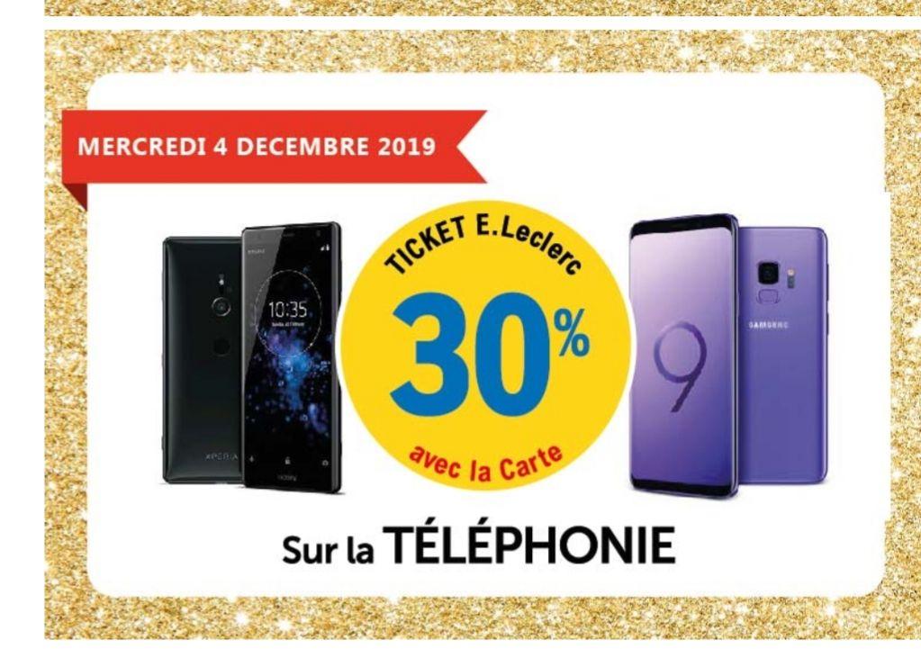 IPhone 11- 64 Go (Via 242.7€ sur la carte) ;30% offert en bon d'achat sur le rayon téléphonie - Rezé (44)