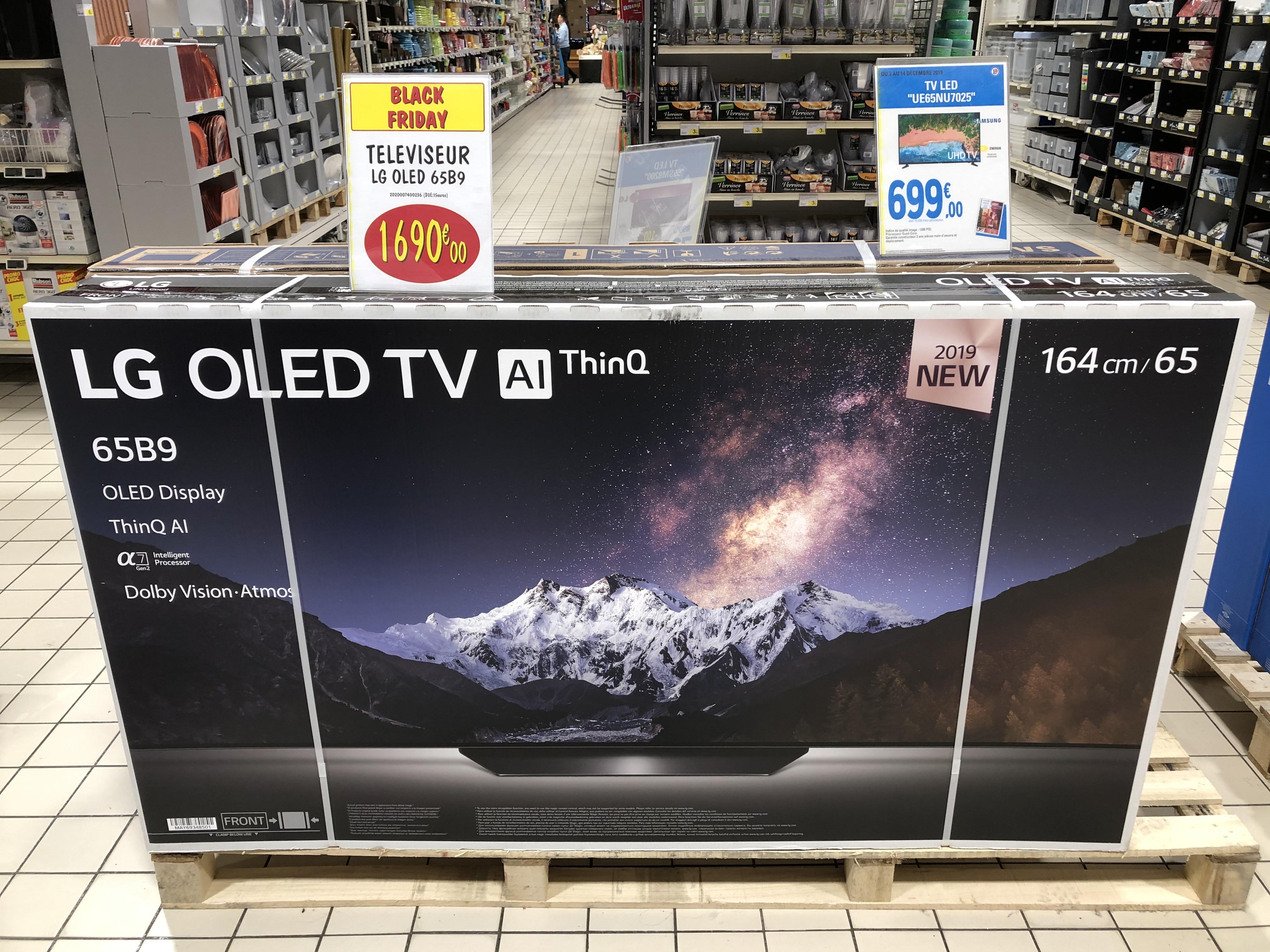 """TV 65"""" LG OLED65B9 - ODR (Saint-Orens 31)"""