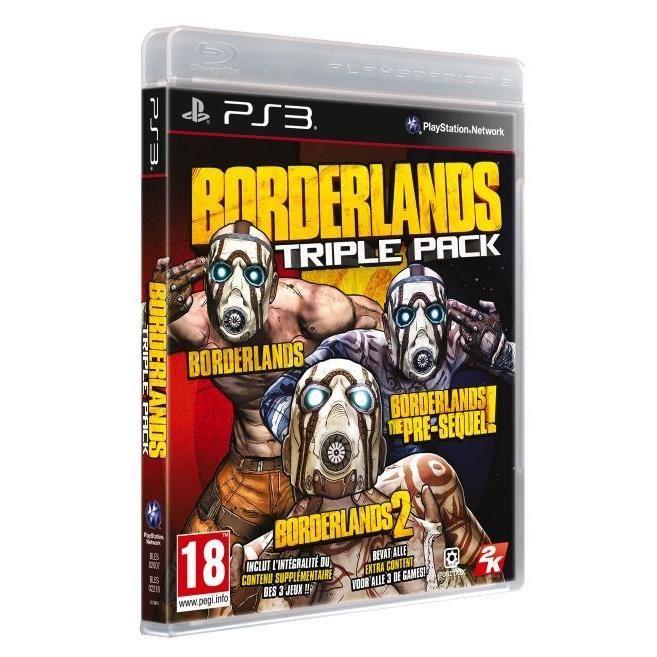 Borderlands Triple Pack sur PS3 et Xbox 360