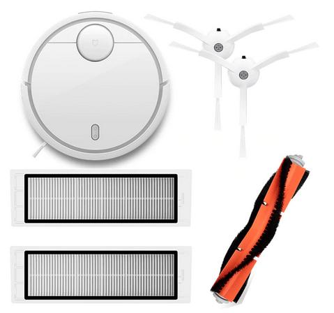 Aspirateur robot Xiaomi Vacuum V1 avec brosses et filtres (Entrepôt EU)