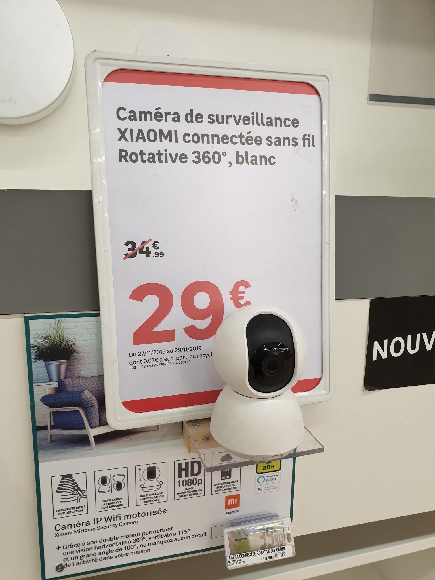 Camera de surveillance Xiaomi 360° - Villeneuve d'Asq (59)
