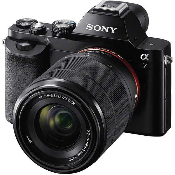 Appareil photo numérique Sony Alpha 7 + Objectif 28-70mm