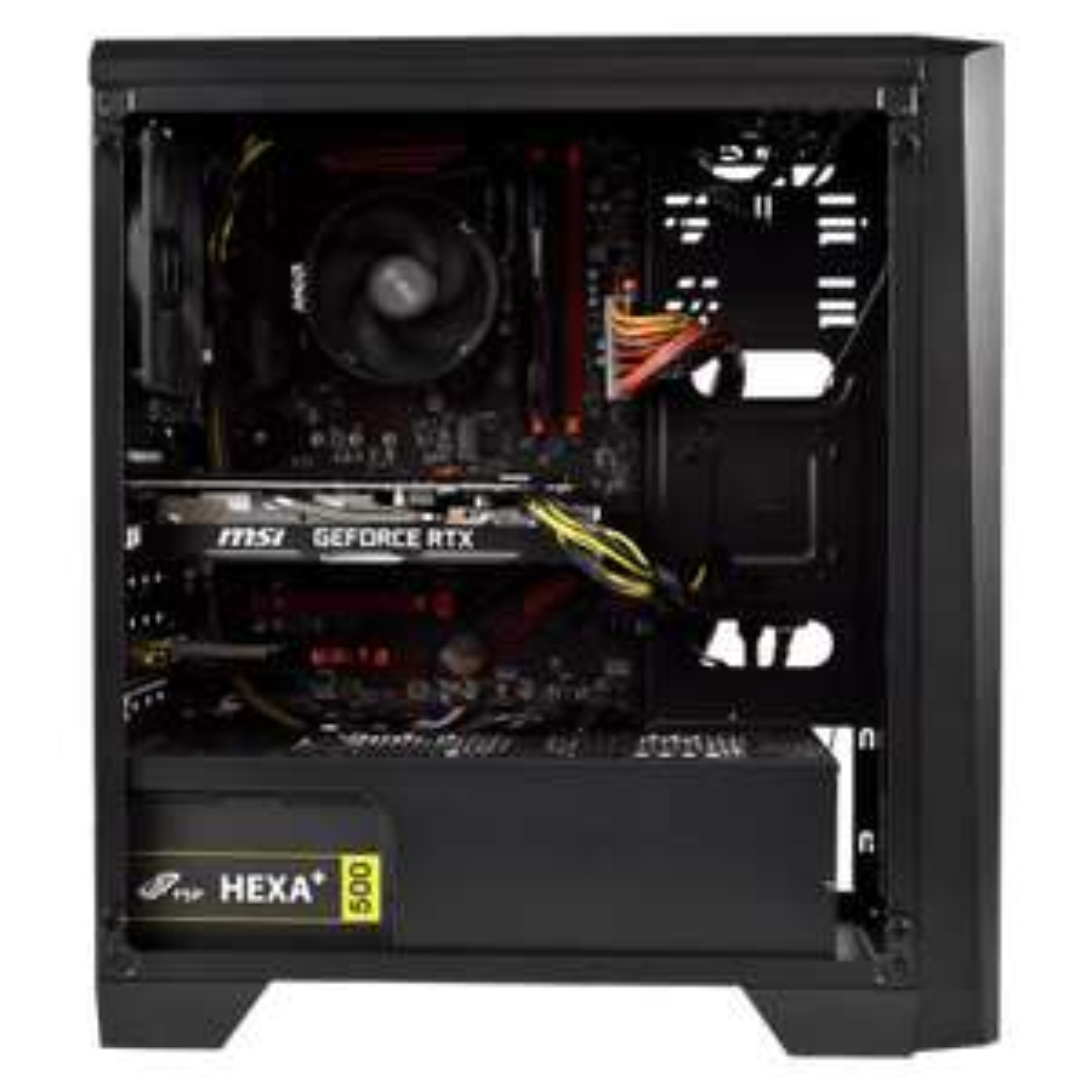 PC de Bureau Cybertek Covenant - Ryzen 5 3600, 16 Go RAM 3000Mhz, SSD 480 Go, RTX 2070 Super