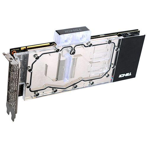 Carte graphique INNO3D GeForce RTX 2070 Super iCHILL frostbite avec block de watercooling (534,95€avec le code destroy)