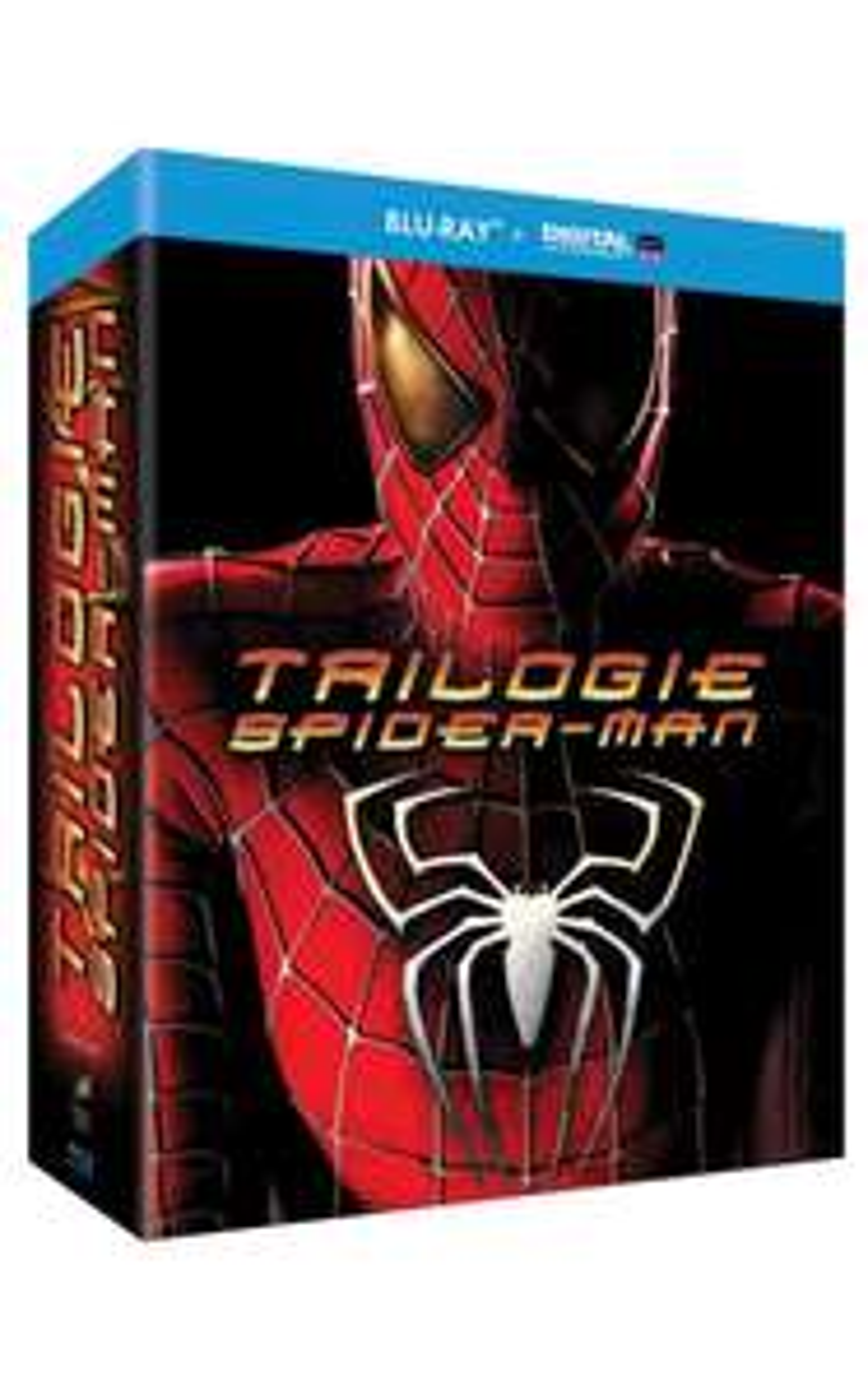 Pack trilogie Spiderman Blu-ray