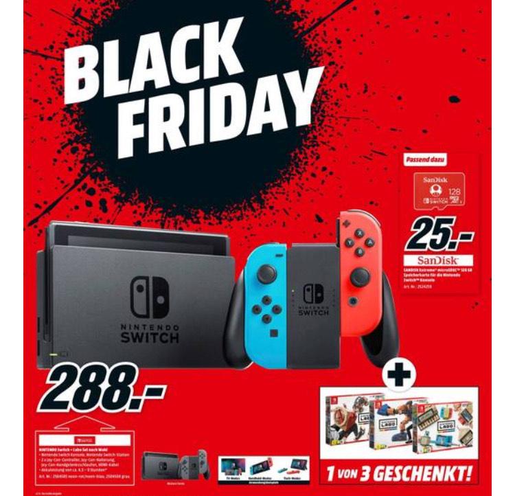 Console de jeu Nintendo Switch + Kit Labo au choix (Frontaliers Allemagne)