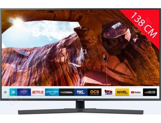 "TV 55"" Samsung UE55RU7405 (2019) - LED, 4K UHD, HDR 10+, 1900 PQI, Smart TV (Via ODR de 100€)"