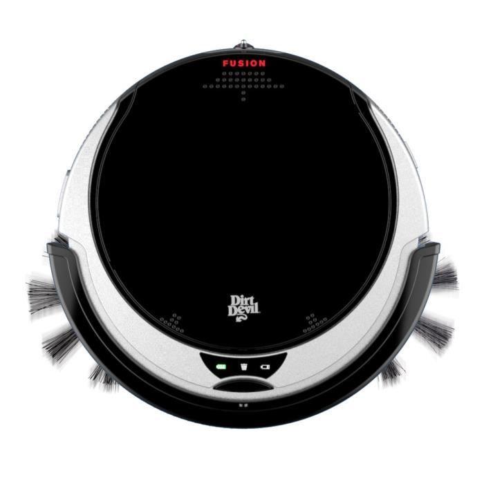 Aspirateur robot DIRT DEVIL M611 Fusion ultra slim - 14,4V, 65 dB, Noir