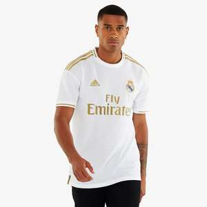 Maillot Adidas Real Madrid 2019/20 Domicile - Blanc & Tailles au choix