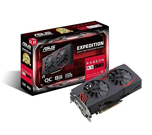 Carte graphique Radeon RX 570 ASUS Expedition OC Edition - 8Go GDDR5