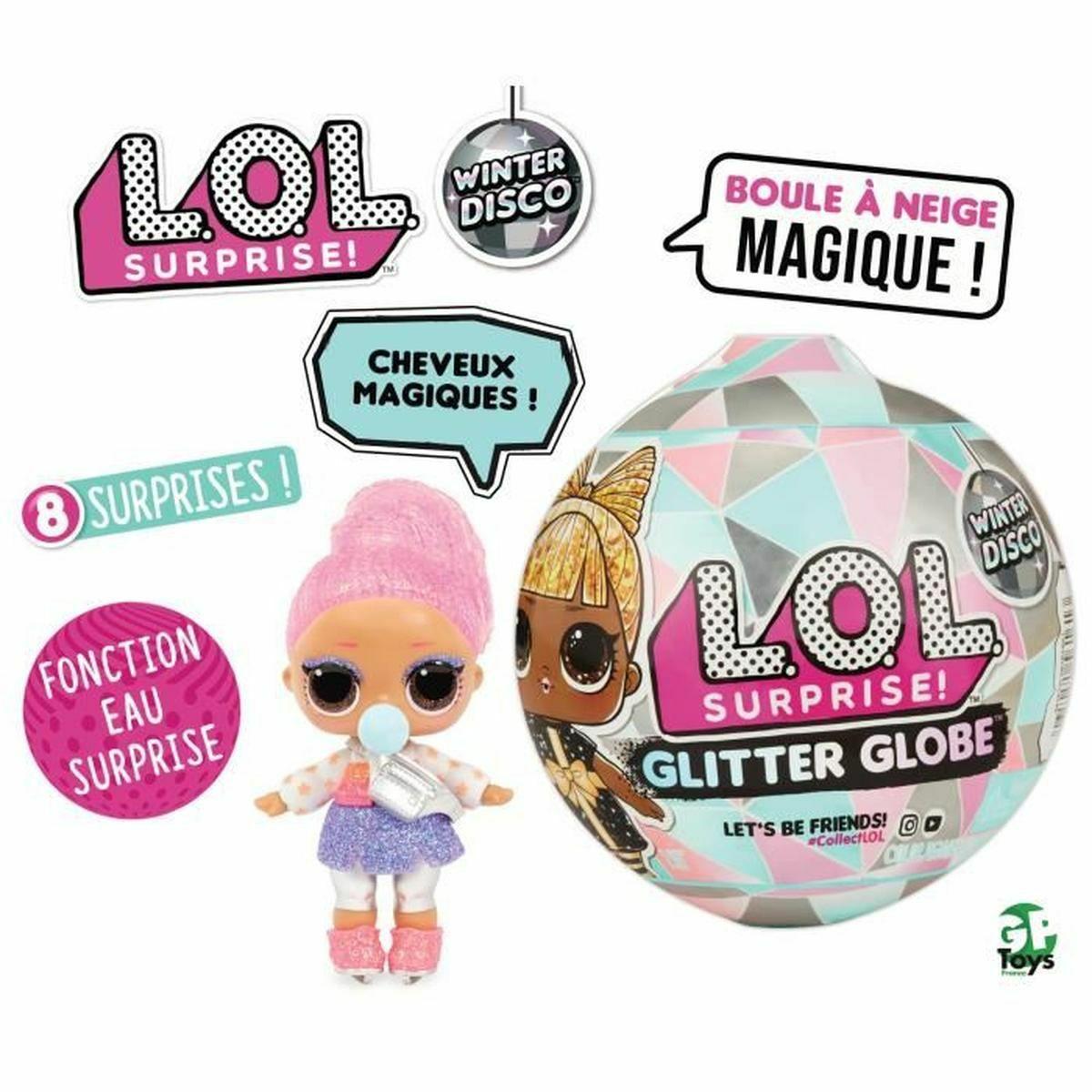 Poupée L.O.L Surprise Glitter Globe