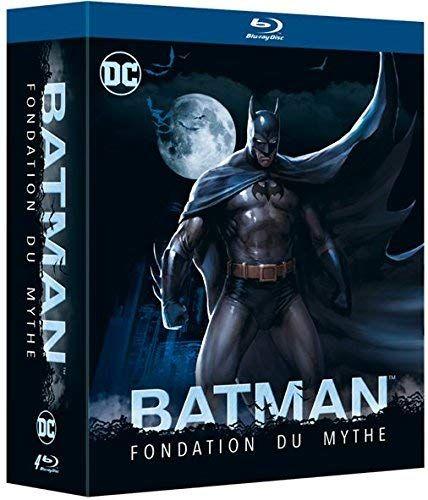 Coffret Blu-ray Batman Fondation du mythe - The Dark Knight 1 & 2 + Year One + The Killing Joke