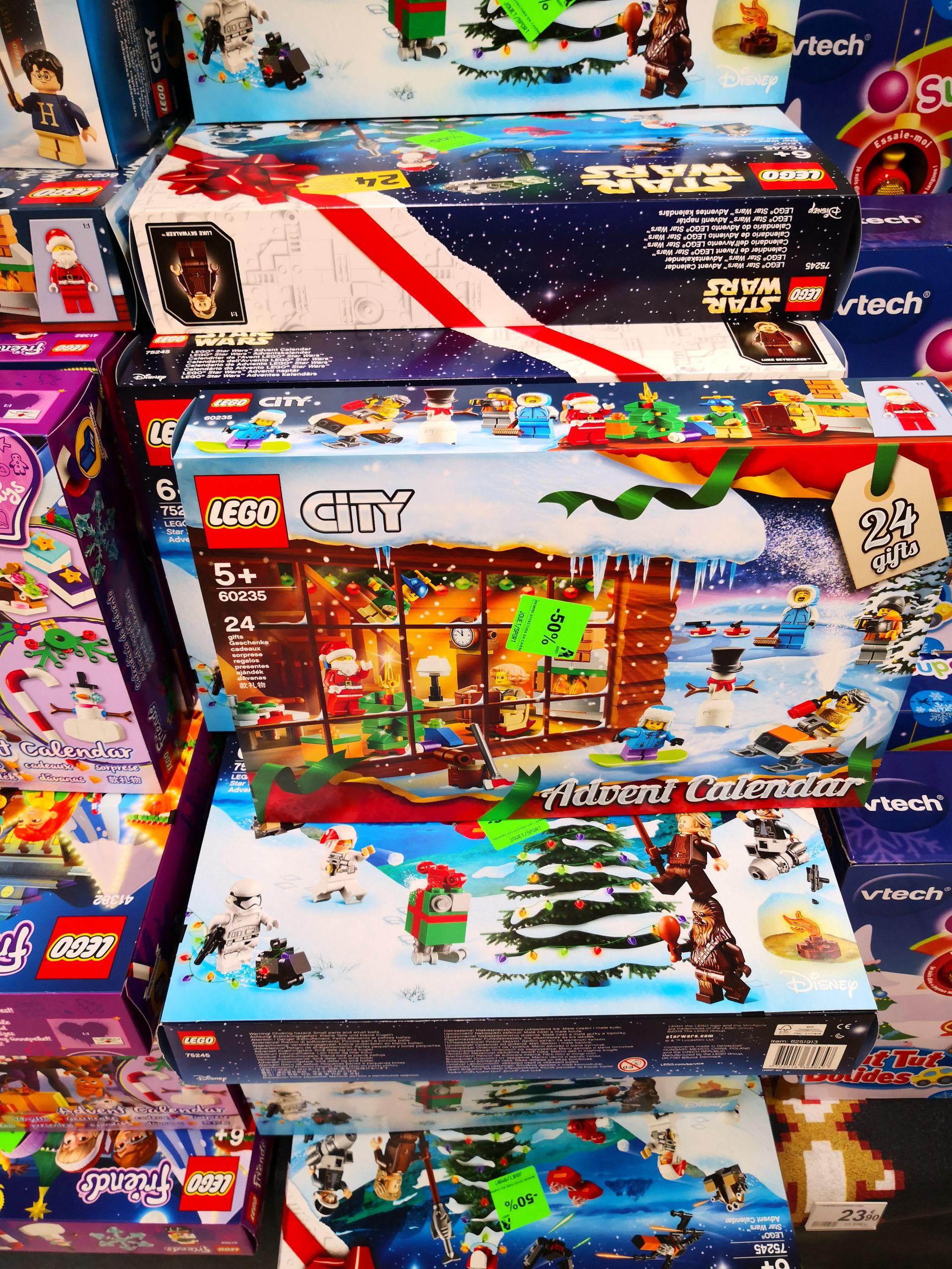 50% sur les Calendriers de l'avent Lego - Épagny (74)