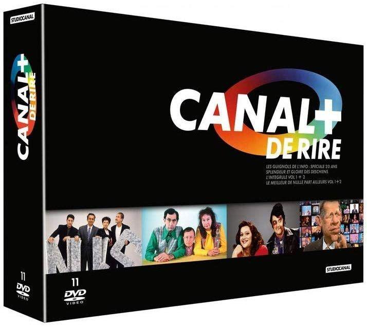 Coffret DVD Canal+ de Rire - Les Nuls, Deschiens, Les Guignols, DeCaunes & Garcia