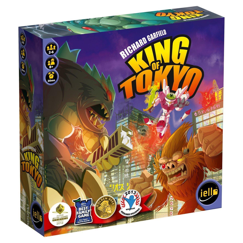 Jeu De Plateau Iello 51021 - King of Tokyo (version française)