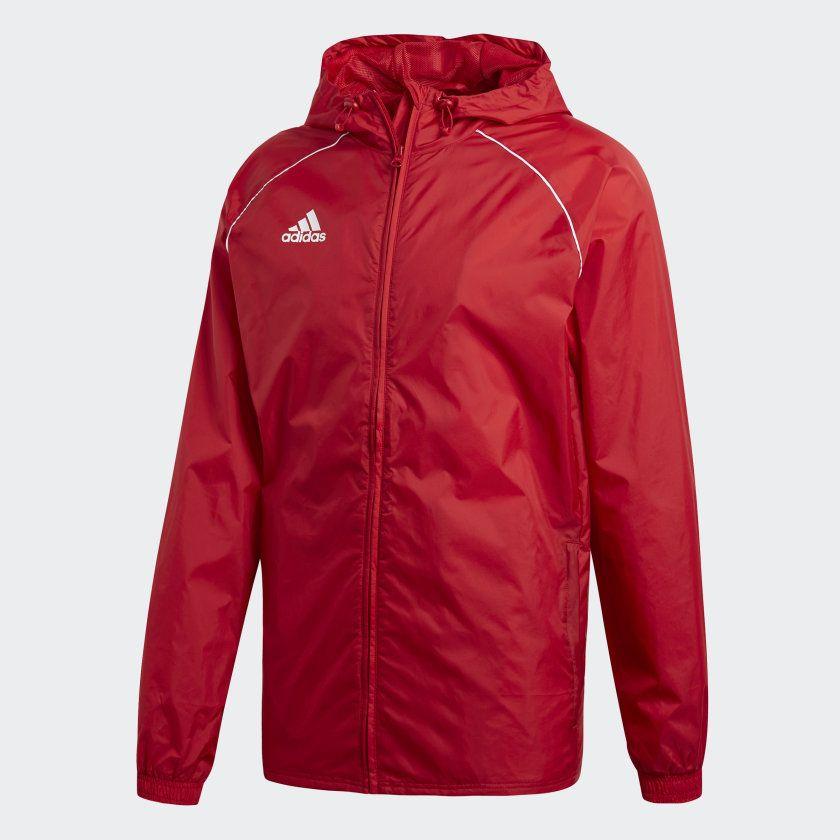 Veste imperméable Adidas Core 18 (Taille S)