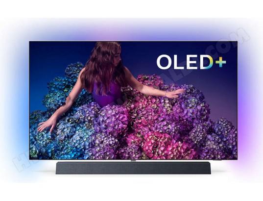 """TV 55"""" Philips 55OLED934 - 4K, HDR10+, Dolby Vision, Son B&W (Via ODR de 200€)"""