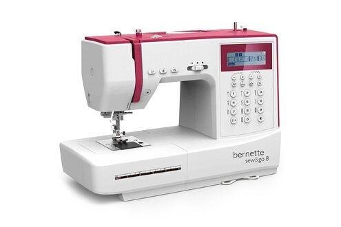 Machine à coudre avec pédale Bernette Sew & Go 8 (vendeur tiers)