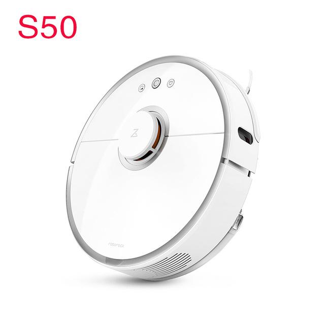 Aspirateur robot Xiaomi Roborock S50 - Blanc, Entrepôt France (262.85€ avec le code 30FRBF)