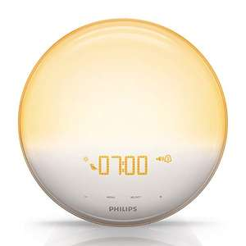 Lampe LED Eveil Lumière Philips HF3520/01 avec Fonction Red Shift