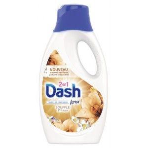 Lessive liquide Dash 2 en 1- 1.21L, Plusieurs parfums (via 4,06€ sur la carte fidélité)
