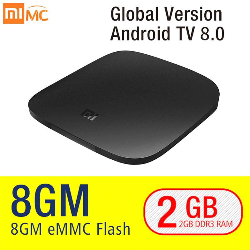 Xiaomi Mi Box 3 - Android TV 8.0, 4K HDR, Amlogic S905X, RAM 2 Go, ROM 8 Go (Version Internationale)
