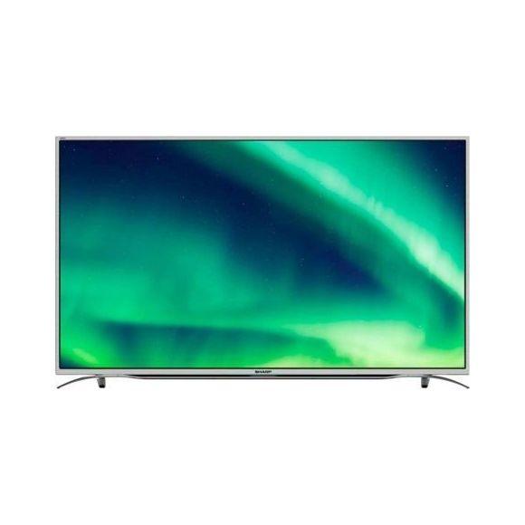"TV 55"" Sharp LC-55CUF8372ES - Full LED, 4K UHD, AM 600, Smart TV, 3 HDMI"