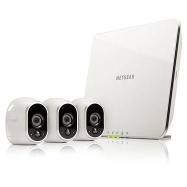 Kit de surveillance netgear Arlo VMS3330-100EUS - 3 caméras