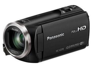 Caméscope Panasonic HC-V270 - Full HD - Wi-Fi - Zoom 50x